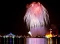 Fireworks performance by the Da Nang (Vietnam) team. Photo: Huy Dang