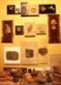 Các tác phẩm của các em trưng bày tại Phòng nghệ thuật.