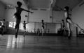 Engrossed in ballet