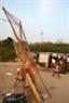 Và chài lưới của ngư dân xóm nổi dưới chân cầu Long Biên mất tác dụng.