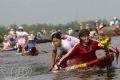 Cuộc ganh đua đầy quyết của những tay đua nữ.