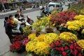 Chợ hoa Tết Hà Nội.