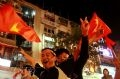 """""""Việt Nam chiến thắng, Việt Nam vô địch, Hồ Chí Minh muôn năm…"""". Ảnh: Thông Thiện."""
