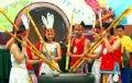 Коллектив исполнителей музыкальных произведений на традиционных вьетнамских барабанах
