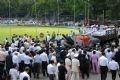 Похоронная процессия покидает Дворец независимости