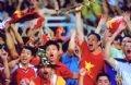 敢闘賞を受賞した作品「勝利するベトナム代表チーム」(撮影:ミン・クオック(Minh Quoc)(ベトナムフォトジャーナルカメラマン)