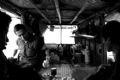 河边渔民的筏屋