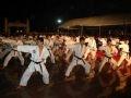 Martial arts performance by artists of Ngoc Hoa Martial Arts School.