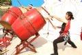 日本の芸術家による太鼓演奏