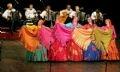 Знаменитый академический хор имени М. Е. Пятницкого на сцене Ханойского Большого Театра