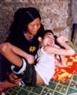 Kê Van Bac, victime de l'agent orange/dioxine, né en 1988, commune de A Ngo, district d'A Luoi, province de Thua Thiên-Huê, ne pouvant déplacer.