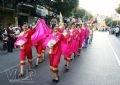 Thiếu nữ Hoa trong trang phục dân tộc.