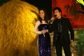 "Singer Quang Dung and his wife, Jenifer Pham (from the US), perform the ""Love Song""."
