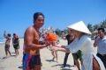 VĐV Nguyễn Thanh Liêm (Việt Nam) về nhất cuộc bơi năm 2010.