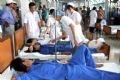 Da Nang Hospital's doctors taking care of victims.