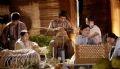 Những làng nghề truyền thống được phục dựng lại trong lễ hội.