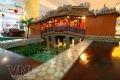 Mô hình chùa Cầu Hội An được tái dựng, thu hút sự quan tâm của du khách thủ đô.