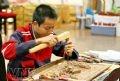 Tái dựng chạm khắc gỗ cổ truyền Kim Bồng.