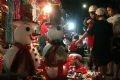 Hanoians buy Christmas presents in Hang Ma Street.