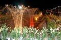 Una vista nocturna de Dalat