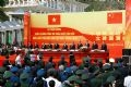 The ceremony to mark the completion of the land border demarcation and border marker planting of Vietnam and China.