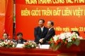 Vietnamese Deputy Prime Minister and Foreign Minister Pham Gia Khiem (left) and Chinese Party Central Committee member and State Councillor Dai Bingguo attend the ceremony.