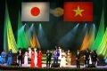 Các nghệ sĩ, ca sĩ nổi tiếng của Việt Nam và Nhật bản tại Đại nhạc hội.