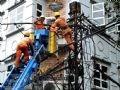 Ngành điện lực đã phải huy động lực lượng ứng cứu khẩn cấp.