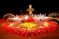 """Đêm khai mạc lễ hội """"Sắc hoa Đà Lạt 2004""""."""