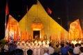 Lễ tri ân các Anh hùng Liệt sĩ tại nghĩa trang liệt sỹ Việt - Lào, Nghệ An.