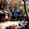 Un rincón del casco antiguo de Hanoi