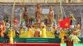 Đàn tế dựng trang trọng dưới chân Hoàng Thành Thăng Long.