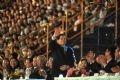 Chủ tịch nước Nguyễn Minh Triết tới dự lễ khai mạc.