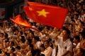 Les supporteurs vietnamiens.