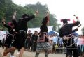 The Dao ethnic people in To Mua Commune perform a traditional dance of the Dao Tien group.
