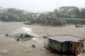 Thị trấn Thuận An huyện Phú Vang - Thừa Thiên - Huế ngập chìm trong nước.