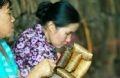 Mỗi chặp bánh gai thường có 5 chiếc. Người già ở Tứ Trụ cho biết: Con số 5 theo quan niệm dân gian của người Việt bắt đầu bằng chữ sinh (sinh (1), lão (2), bệnh (3), tử (4) … sinh (5) như muốn gửi gắm sự sinh sôi, phát triển đến người thưởng thức.