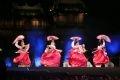 La danse aux éventails des Sud-Coréens.
