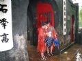 大雨和水淹阻止不了外国游客游逛河内的步伐。越通社日英