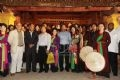 Deputy Prime Minister-cum-Minister of Foreign Affairs, Pham Gia Khiem poses with delegates and Quan ho singers.