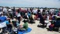 Chương trình Airshow ở sân bay quân sự Andrews luôn thu hút rất đông du khách đến xem.
