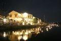 Ночь полнолуния в старинном городе Хойане