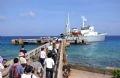 长沙岛县码头。