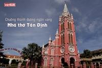 Chuông thánh đường ngân vang nhà thờ Tân Định