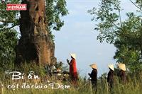 Bí ẩn cột đá chùa Dạm