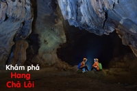 Khám phá hang Chà Lòi