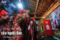 Lễ cúng Bàn Vương của người Dao ở Hoàng Su Phì