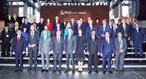 2018年10月20日、グエン・スアン・フック首相はデンマークのコペンハーゲンに行われるグリーン成長とグローバルゴールズ2030のためのパートナーシップ」首脳会議に出席した。写真説明:グエン・スアン・フック首相と団長たち。撮影:トン・ニャット-ベトナム通信社