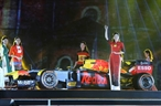 An art performance was held in Hanoi on November 7 evening to celebrate Hanois  hosting of the Formula One Grand Prix for the first time in April 2020.  Photo: Thanh Tung/VNA