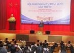 El 12 de agosto de 2018 en Hanoi la XIX Conferencia de Asuntos Exteriores de Vietnam fue inaugurada solemnemente en el Ministerio de los Asuntos Exteriores. En la foto: El viceprimer ministro y canciller Pham Binh Minh pronunció un discurso para presidir la conferencia. Foto: Lam Khanh - VNA